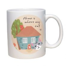 Home Is Where My Pet Is Mug - Ideal for any cat lover